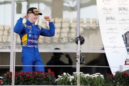 Laatste GP3-race van seizoen prooi voor Jake Hughes