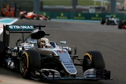 Hamilton onbestraft na controversieel optreden Abu Dhabi