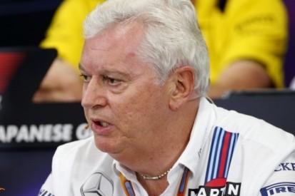 Technisch directeur Symonds (63) vertrekt bij Williams