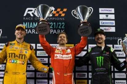 Vettel wint in zijn eentje Nations Cup bij Race of Champions