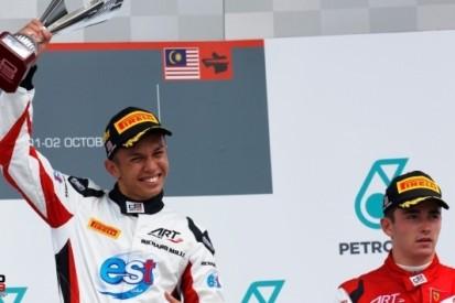 Albon promoveert met ART Grand Prix naar GP2