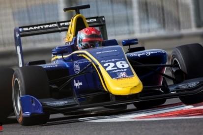 DAMS in 2017 met Ferrucci, Calderon en Baptista in GP3