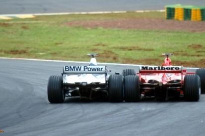 Fotospecial: de dag waarop F1 kennismaakte met Montoya