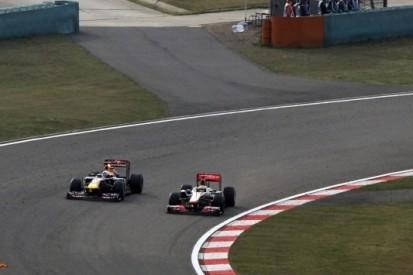 In beeld: memorabele momenten uit Chinees GP-verleden
