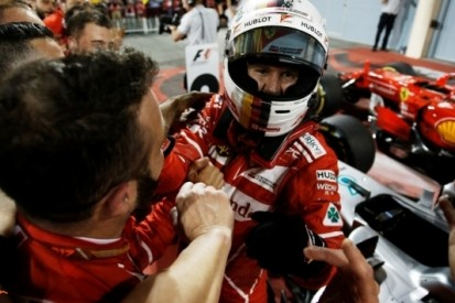 """Vettel sprakeloos na tweede zege: """"Een geweldige dag"""""""
