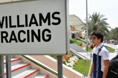 Williams zet Paffett (36) in tijdens tests in Bahrein