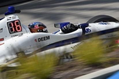 Hildebrand mist IndyCar-race op Barber Motorsports Park