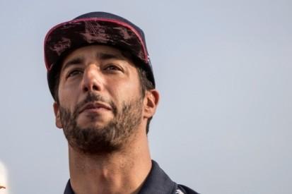 Ricciardo in actie tijdens Nagy Futam-festival in Hongarije