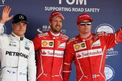 Vettel en Räikkönen verslaan Mercedessen in kwalificatie
