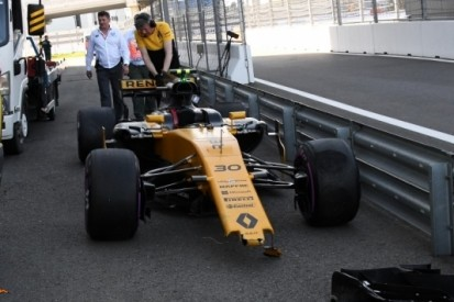 Palmer crasht, Hülkenberg perst maximale uit zijn Renault
