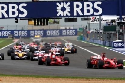 De laatste keer dat beide Ferrari's vooraan vertrokken