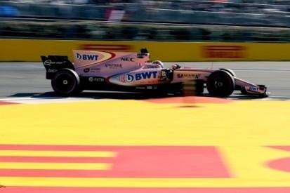 Force India versterkt vierde plek met dubbele puntenfinish