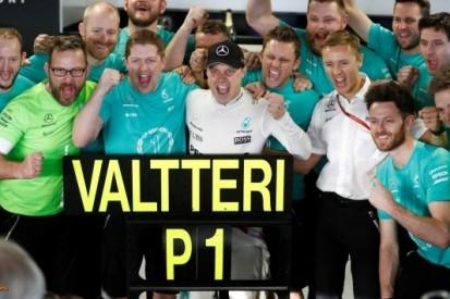 Bottas 107e racewinnaar in historie van Formule 1