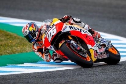 Pedrosa wederom snelste, Lorenzo verrast met tweede tijd