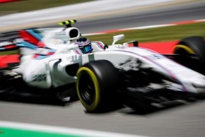 Problemen met banden teisteren Williams-coureurs