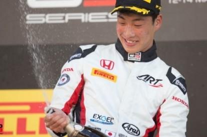 Eerste GP3-race van 2017 prooi voor Honda-talent Fukuzumi