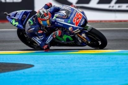 Vinales leidt Yamaha-trio in kwalificatie Le Mans