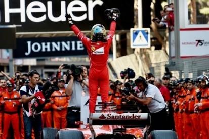 Hoe Vettel de overwinning in de schoot geworpen kreeg