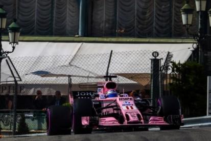 Nulscore Force India in Monaco, Pérez' reeks ten einde