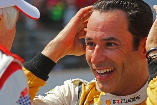 De waanzinnige race van Castroneves op Indianapolis