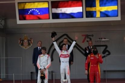 In beeld: als het Wilhelmus klinkt na een GP2/F2-race