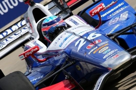 Indy 500-winnaar Sato op pole voor race twee in Detroit