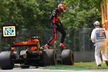 """Verstappen ziet podium vervliegen: """"Helemaal ruk dit"""""""