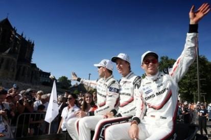 """Bamber, Bernhard en Hartley dolblij: """"Geest van Le Mans"""""""