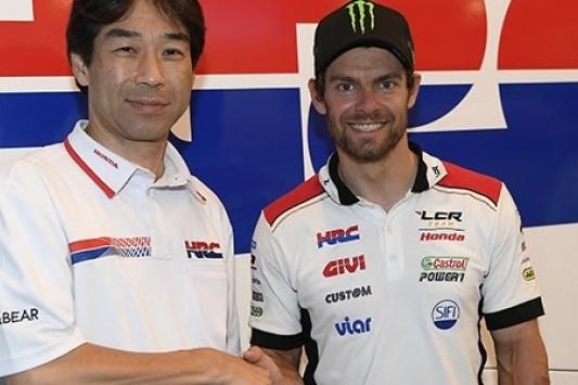 Crutchlow ook komende twee jaar bij LCR Honda