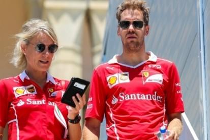 Drie strafpunten voor Vettel; race schorsing dreigt