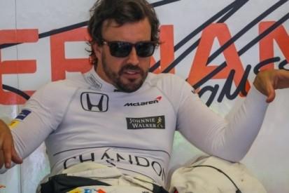 """Alonso hoopt op regen: """"Prima als je niets te verliezen hebt"""""""