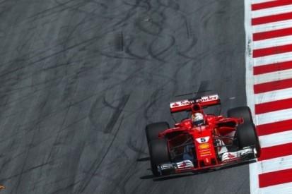Vettel zet Ferrari bovenaan in laatste vrije training
