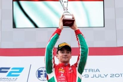 Leclerc domineert eerste race, De Vries buiten punten