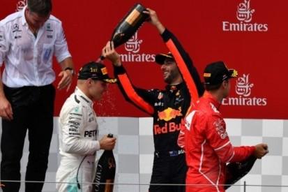 """Ricciardo weer naar podium: """"Close, maar fair met Lewis"""""""