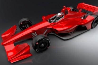 Montoya en Servia testen nieuwe IndyCar-bolide