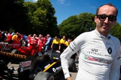 Renault zet Kubica in tijdens test op Hungaroring