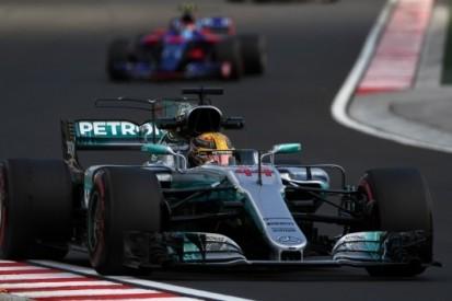 Hamilton schiet mis in Q3 en start vanaf vierde plaats