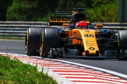 Kubica maakt indruk tijdens testdag in Hongarije