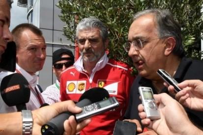 """Marchionne: """"Geen Ferrari, mogelijk wel ander merk in FE"""""""