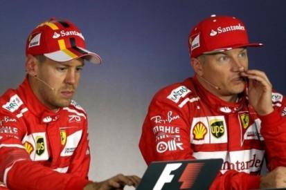 Ferrari zinspeelt op langer verblijf Vettel en Räikkönen