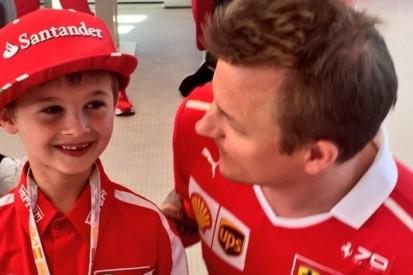 Laureus Award lonkt voor Räikkönen en huilende fan