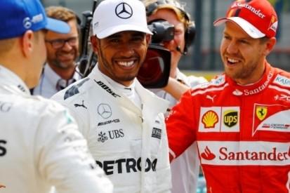 Hamilton 'vereerd' met plek naast Schumacher in recordboeken