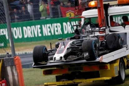 """Lange code rood na crash Grosjean: """"Zichtbaarheid nul"""""""
