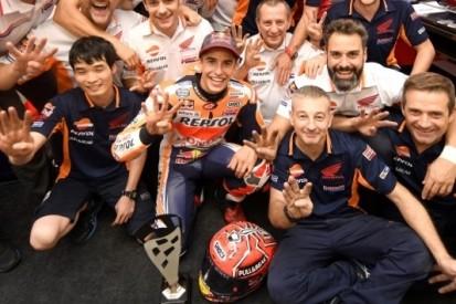 """Márquez dolblij: """"Eén van de beste races van mijn loopbaan"""""""