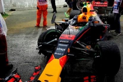 """Verstappen in Ferrari-sandwich: """"Het is niet mijn jaar"""""""