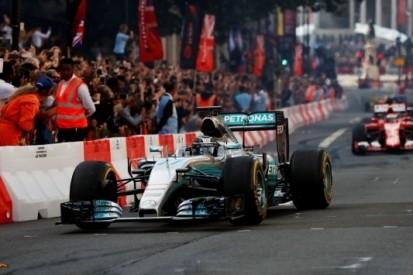 Versoepeling Formule 1-regels omtrent demonstraties