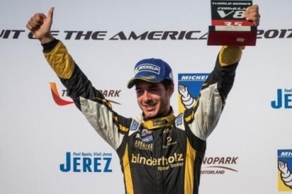 Binder rijdt F2-races op Jerez in plaats van Merhi