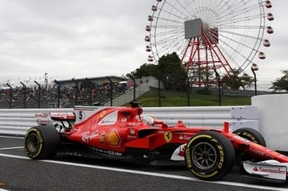 Vettel opent razendsnel, lange code rood na crash Sainz