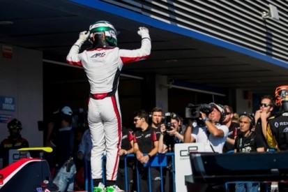 Fukuzumi soeverein naar winst in eerste GP3-race Jerez