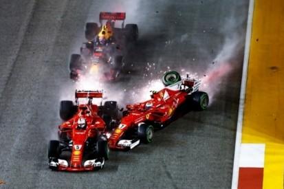 In beeld: het Aziatische echec van Ferrari en Vettel